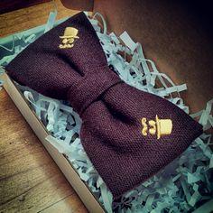 bowtie inside a box.