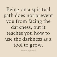 I hang out in my darkness. I let it stir and say what it needs to. Then I let it pass and thank it for its role in my life and let the light in. ✨NM✨