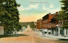 Main Street, Kent, Ohio 1910s