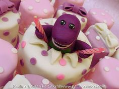 Love this idea! - omg i wish i would've known about this for my daughter's bday last year. she was obsessed with barney!