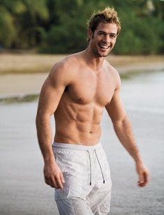 William Levi, Handsome Male Models, Hottest Guy Ever, Blonde Guys, Hommes Sexy, Hot Hunks, Shirtless Men, Celebrity Dads, Muscular Men