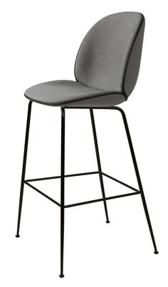 Bar chair / contemporary / upholstered / steel BEETLE by GamFratesi GUBI