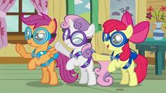 "My Little Pony: Friendship is Magic - Episode 63, ""Just for Sidekicks"" http://www.dailymotion.com/video/xx290o_my-little-pony-friendship-is-magic-episode-63-just-for-sidekicks_fun"