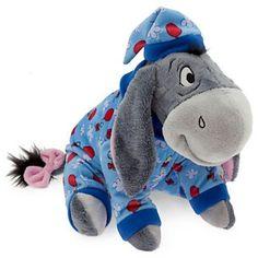 Eeyore Plush - Holiday Pajamas - wamnt it! Winnie The Pooh Plush, Winne The Pooh, Winnie The Pooh Friends, Disney Winnie The Pooh, Baby Disney, Eeyore Pictures, Christmas Story Books, Doll Toys, Dolls