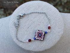 Bracelet carré de mosaïque Artisanal, Bracelets, Charmed, Jewelry, Boucle D'oreille, Locs, Jewerly, Jewlery, Schmuck