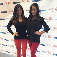 Our owners, Gabi & Rei Leigh showing their support for the American Lung Association! American Lung Association, Go Red, Austin Texas, Lunges