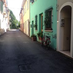 В #Rimini дороженьки  ровненькие и чистые хоть лизни  by yakubova_vika