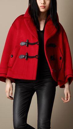 Women's Clothing | Duffle coat, Fur trim and Hoods