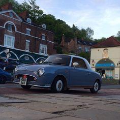 https://flic.kr/p/tkodQ7   Cute car in Iron Bridge. Could be the sixties in Telford. #upsticksngo #travel #car #shropshire