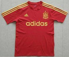 Camiseta Eurocopa 2016 Espana Entrenamiento rojo