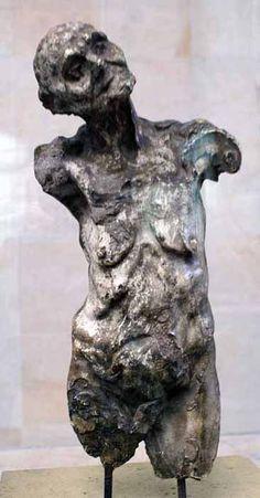 Camille Claudel. Torso of Clotho.