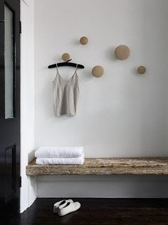Muuto holders for our bathroom