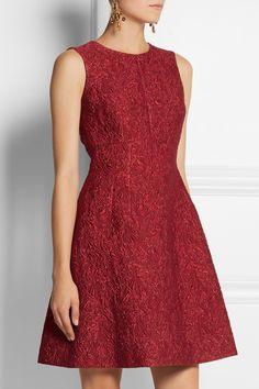 Dolce & Gabbana Matelassé mini dress NET-A-PORTER.COM