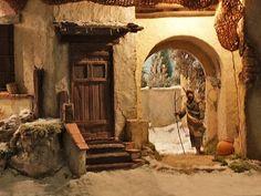 Diy Nativity, Christmas Nativity, Christmas Carol, Nativity Scenes, Christmas Village Display, Fairy Garden Houses, Miniature Houses, Tenerife, Beautiful Christmas
