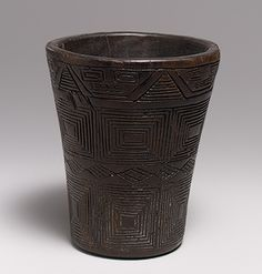 Drinking Vessel (Kero) [Inka] (1994.35.11) | Heilbrunn Timeline of Art History | The Metropolitan Museum of Art