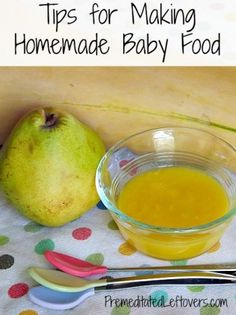 How to Get Started Making Homemade Baby Food