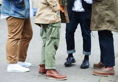 roll up your slacks -Tommy Ton's Street Style: Paris Fall 2013: Style: GQ