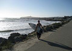 Great surf spot, intermediate