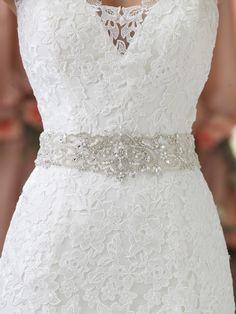 Style No. BELT11413 » David Tutera for Mon Cheri » wedding dresses 2013 and bridal gowns 2014