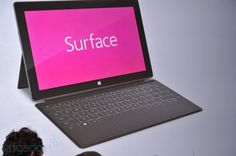Microsoft Surface Covers...a tablet with the cover that is also a keyboard!  That's innovative stuff.  I'll trade in my laptop for this one.