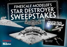 Enter to win a 1:2700 scale Star Destroyer kit or 2 other great prizes!