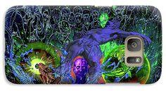 Soul Galaxy S7 Case featuring the digital art Solar Soul Awaken by Joseph Mosley