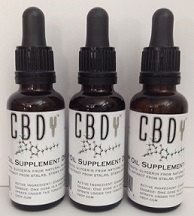 CBDy CBD Drops Honey Hemp Oil w/ Cannabidiol Tincture 1oz Dropper Bottle