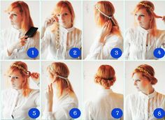 how to do retro hairstyles