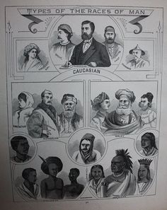 Types of the Races of Man