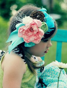 Shabby Chic vintage inspired headband