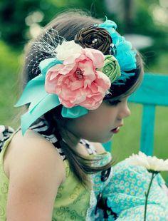 Shabby Chic vintage inspired headband