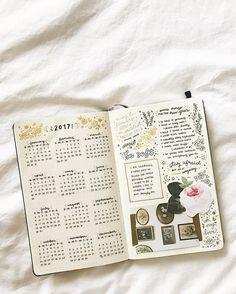 my 2017 spread!! still need to do my january one today lolol -- i'm super chuffed with how this turned out :') wishing you all a fantastic first week of 2017!!! . . . . . #bulletjournal #2017spread #yearlyspread #bujo #bujocommunity #newyear #2017 #happynewyear #journal #lettering #handlettering #penmanship #handwriting #moleskine #vsco #vscocam