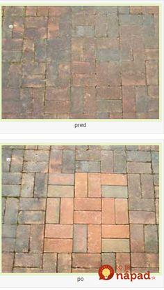Najjednoduchší spôsob ako vyčistiť vonkašiu dlažbu a betón bez drhnutia: 10-ročná príjazdová cestavyzerá ako nová a po burine ani stopy!