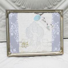 Angel Decor Angels Mixed Media Art Vintage by StarlilyDesignStudio, $36.00