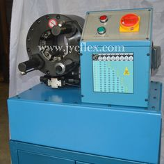 Low pressure hose crimping machine in stock, delivery at any port. www.jycflex.con/ yolanda.l@jycflex.com
