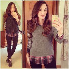 Layers with Sequins are the best kind! #targetstyle #sequin sweatshirt #gap #vest #fryeboots #plaid #layers #pacsun #ootd #fallstyle #wiwt #fashion #fashionista #whatiwore #lookoftheday #instafashion #instastyle #igfashion #igstyle #mystyle #currentlywearing #instalook #hapa #followme #stylediaries