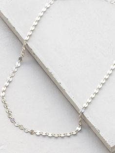 Sterling Silver Bohemian Disc Choker Necklace