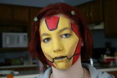 iron man face painting - Google Search