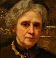 Paczka, Ferencné - Self-Portrait