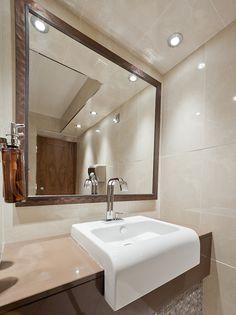 Noken en Lochside House #Hotel & Spa. Un diseño de #baños único en un entorno relajante y de ensueño #interiorismo #Escocia