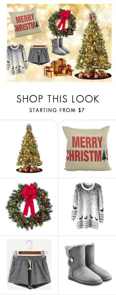 """""""Untitled #17"""" by alondra-lemus909 ❤ liked on Polyvore featuring General Foam, Improvements and UGG Australia"""