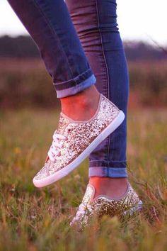 Spade New York Glitter Sneakers
