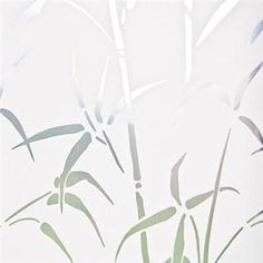 Bamboo Privacy Window Film (for the master bedroom)