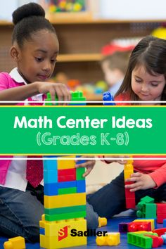 Make your math centers more successful. You'll get tips and tricks for grouping students, developing routines plus a list of activities, games, and printable. Math For Kids, Fun Math, Math Activities, Math Help, Math Resources, Math Games, Math Teacher, Math Classroom, Teaching Math