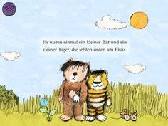 Schon entdeckt? Eine entzückende Geschichte vom kleinen Tiger und kleiner Bär. Janosch: Oh, wie schön ist Panama | Apps für Kinder - myToys #Janosch #Tigerente #Freundschaft