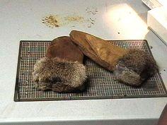 How to make rabbit fur mittens