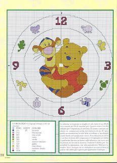 Pooh clock