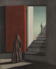 The Fourteen Daggers - Kay Sage, 1942