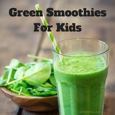 Variations of Green Smoothies For Kids