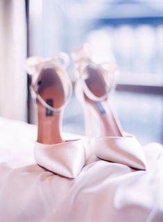 Featured Photographer: Le Secret d'Audrey Photography; Wedding shoes ideas. #weddingshoes